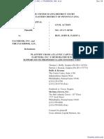 CROSS ATLANTIC CAPITAL PARTNERS, INC. v. FACEBOOK, INC. et al - Document No. 54