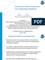 Ceclia Deluca - An Architecture for Many-Component Regional Hydrologic Modeling