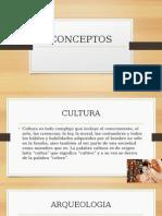 Conceptos Historiaconceptos  Nacional y Regional