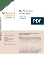 Politics Anthropogenic