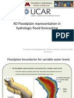 Chandana Gangodagamage - 4D Floodplain representation in hydrologic flood forecasting