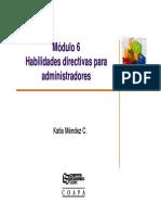 Modulo 6 habilidades directivas
