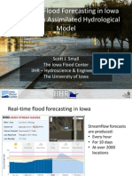 Scott Small - Real-time Flood Forecasting in Iowa with a Data Assimilated Hydrological Model