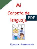 Carpeta de Lenguaje