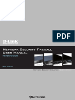 MANUAL NetDefendOS 2.27.03 Firewall UserManual