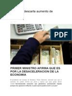 Gobierno descarta aumento de sueldos.docx