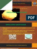 Emulsion Gasificada