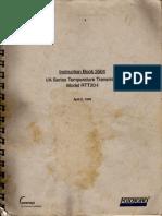 Transmisor+Temp FOXBORO