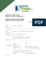 Eticket Viaje Brasil Junio, Julio 2014 - Profesionales en Viajes Ltda.pdf