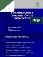 Sesion 1 - Formulacion y Evaluacion de Proyectos