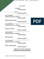 App for COA Filed - Holy Land Foundation 5 2015-08-05