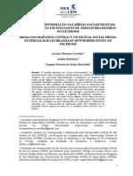 CONTRATO DE INFORMAÇÃO NAS MÍDIAS SOCIAIS DIGITAIS