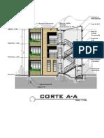 2. CORTE A-A