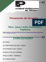 UIII Prevencion de Incendio-Fuego 2012