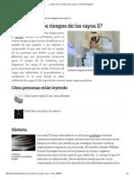 ¿Cuáles son los riesgos de los rayos X_ _ eHow en Español.pdf