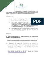 Glosario Ley de Competencia
