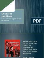 Lecturas públicas
