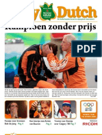 The Daily Dutch #14 uit Vancouver | 24/02/10