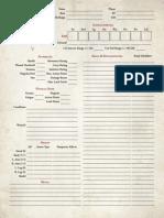 UESRPG 2e - Character Sheet v1.21