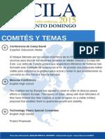 Comités y Temas CILA 2015