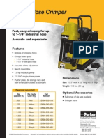 PARKER Maquina COS-K1 Datos (2)