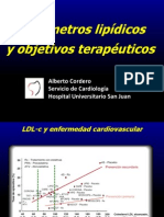 Dr Alberto Cordero Parametros Lipidicos y Objetivos V2