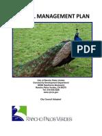 Peafowl Management Plan August 4%2c 2015