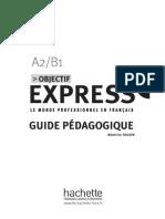 Objectif Express 2 Corrigés