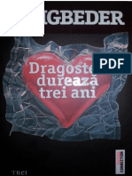 Beigbeder Frederic Dragostea Dureaza Trei Ani