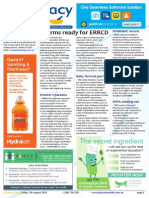 Pharmacy Daily for Fri 07 Aug 2015 - IT firms ready for ERRCD, New scheduling proposal, PHARMAC record, Events Calendar and much more