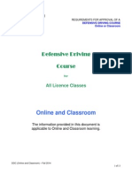 DZ DDC Online Classroom Requirements