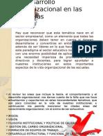 El desarrollo organizacional en las escuelas.pptx