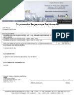 Orçamento Mauro Cravinhos Alexandre - 290615