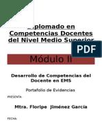 71241734-PORTAFOLIO-DE-EVIDENCIAS-DEL-MODULO-II-PROFORDMES-5TA-GENERACION.doc