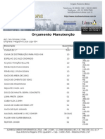 Orçamento Magazine Luiza Total 054 - 220615