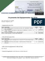 Orçamento Magazine Luiza