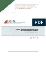 Fanelli Acceso Abandono y Graduación