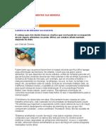Alimentar Sua Memoria - Cida de Oliveira - Nutrição - Alimentos - Carboidratos - Frutas - Sucos - Verduras - Vitaminas - Leite Fermentado -Concurso