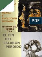 Arqueologia de La Mente y Evolucion Humana - Diapositivas de Conferencia