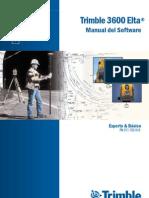 Manual Estacion Total TRIMBLE 3600