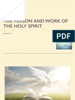 11 The Person and Work of the Holy Spirit