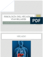 Fisiología Del Hígado y Vías Biliares
