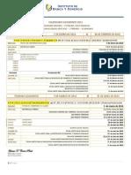 Calendario Academico 2014 Revisado y Oficial