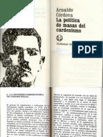 La Política de Masas Del Cardenismo_Arnaldo Cordova001