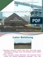 powerpointparameterkualitasdanpemanfaatanbatubara-131128055923-phpapp01