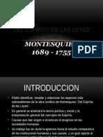 """Montesquieu """"Del Espiritu De Las Leyes"""""""