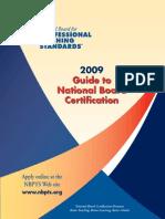 Profesional Teaching Standars Guide 2009