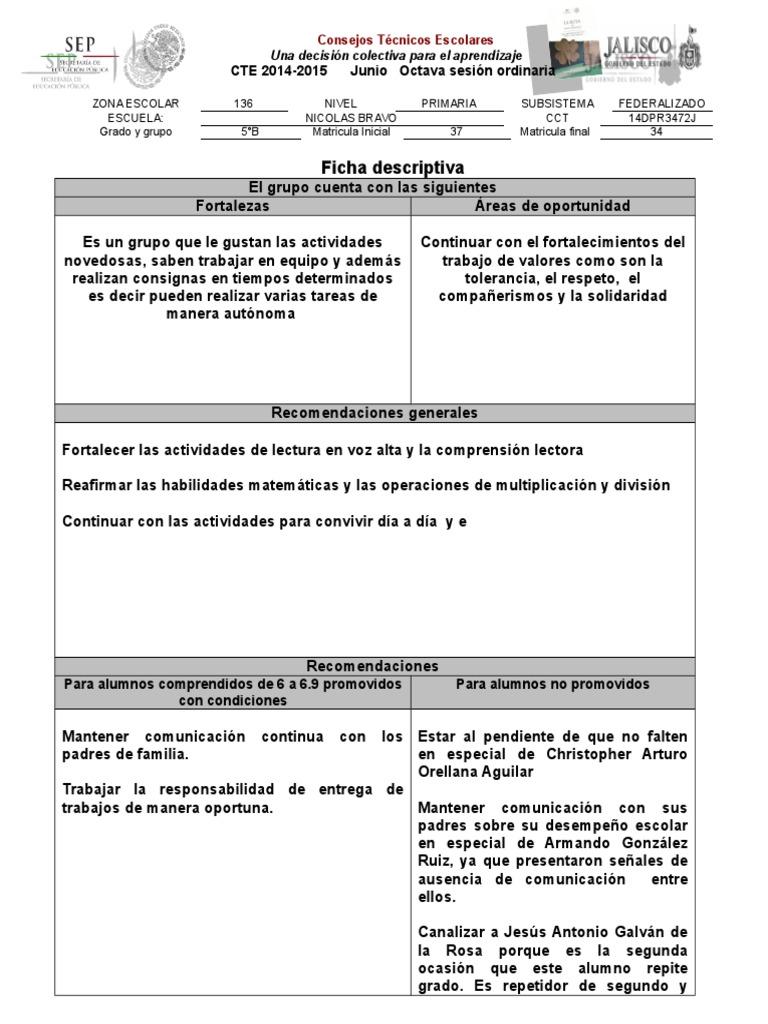 Ficha descriptiva for Zona 5 mobilia no club download