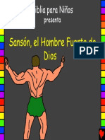 Samson Gods Strong Man Spanish