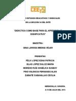 Didáctica en Español Como Base Para El Aprendizaje Significativo